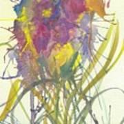 Fantasia De Flor Art Print