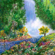 Fantasia Falls Art Print