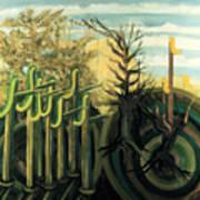 Fantastic Forest  Art Print