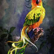 Fantasy Bird Art Print