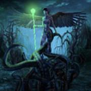 Fantasy Creatures 3 Art Print
