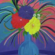 Pink And Purple Passion Art Print