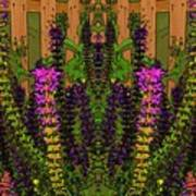 Fantasy Garden Two Art Print