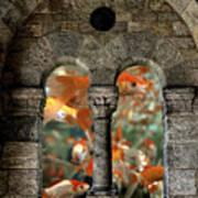 Fantasy Goldfish Aquarium Art Print
