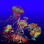 Fantasy Sea Life1 Art Print