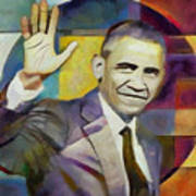 Farewell Obama Art Print