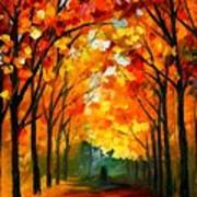 Farewell To Autumn Art Print
