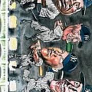 Farewell Yankee Stadium Art Print