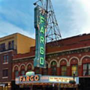 Fargo Theater Art Print