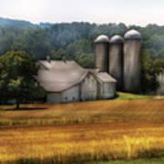 Farm - Barn - Home On The Range Art Print