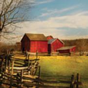 Farm - Barn - I Bought The Farm Art Print