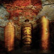 Farm - Bottles - Ceramic Bottles Art Print