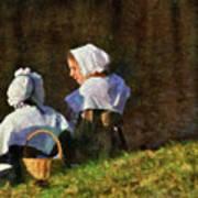 Farm - Farmer - The Young Maidens Art Print