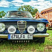 Farm Car - Alpha Gt Art Print