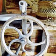 Farm Equipment Corn Sheller Art Print
