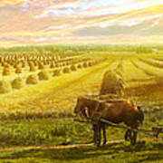 Farm - Finland - Field Of Hope 1899 Art Print