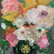 Farm Flowers Art Print