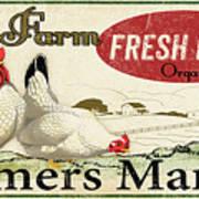 Farm Fresh Eggs-c Art Print