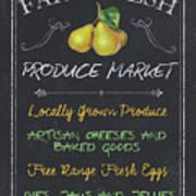 Farm Fresh Produce Art Print