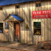 Farm Fresh Produce Print by Mel Steinhauer
