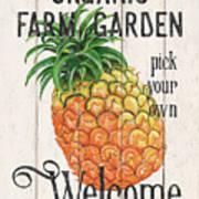 Farm Garden 1 Art Print