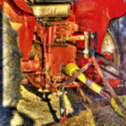 Farm Junk No4 Art Print