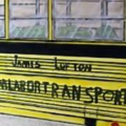 Farm Labor Bus Art Print