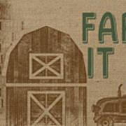 Farm Life-jp3235 Art Print