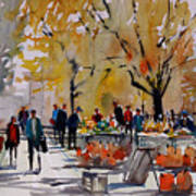 Farm Market - Menasha Art Print