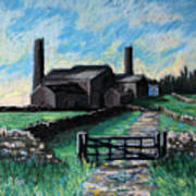 Farm Near Hexham. Art Print