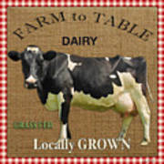 Farm To Table-jp2389 Art Print