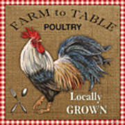 Farm To Table-jp2390 Art Print