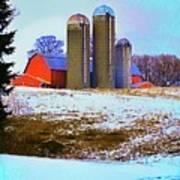 Farm Up Yander Art Print