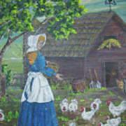 Farm Work I Art Print