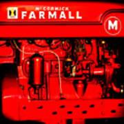 Farmall Engine Detail Art Print