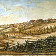 Farmer Plowing Art Print
