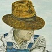 Farmer Ted Art Print