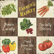 Farmer's Market Patch Art Print