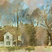 Farmhouse - Gordonsville Va Art Print