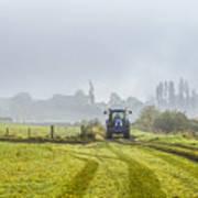 Farming In Clackmannan Art Print