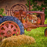 Farming In Hanksville Utah Art Print