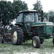 Farming John Deere 4430 Pa 01 Art Print