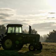 Farming John Deere 4430 Art Print