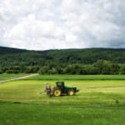 Farming New York State Before The July Storm 03 Art Print