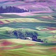 Farmland Colors - No. 1 Art Print