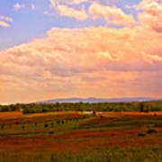 Farmland In Gettysburg Art Print