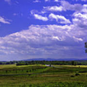Farmland In Gettysburg Version II Art Print
