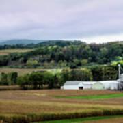 Farmland In Pennsylvania Art Print