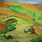 Farmville Art Print
