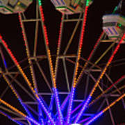 Farris Wheel Close-up Art Print